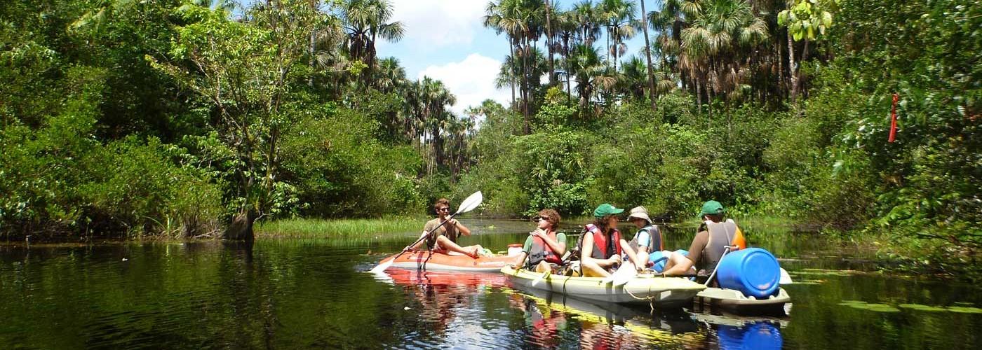 location de canoe kayak en guyane